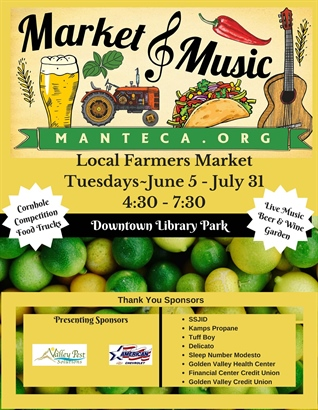 Market & Music in Manteca 2018