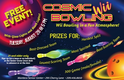 Cosmic Wii Bowling