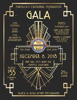 Manteca's Centennial Celebration Gala