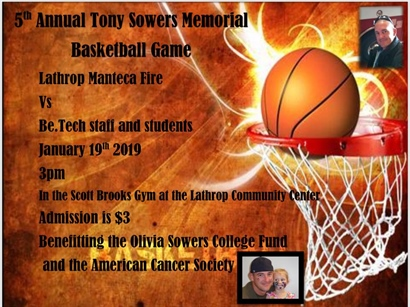 5th Annual Tony Sowers Memorial Basketball Game