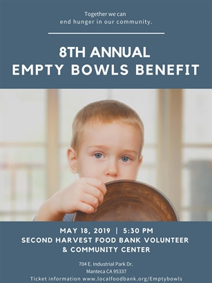 8th Annual Empty Bowls Benefit